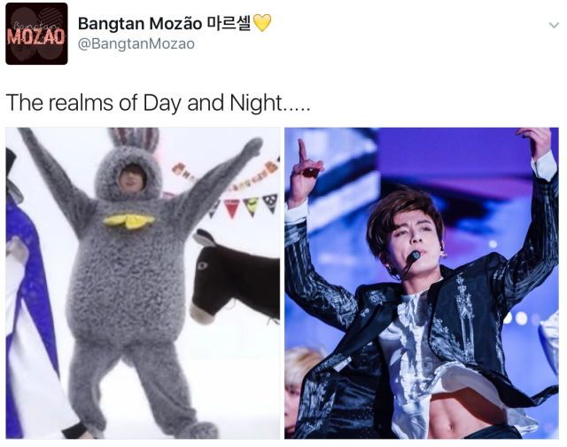 what is this fandom doing - the real question is which one is Day and which one is Night...? ( ͡° ͜ʖ ͡°)