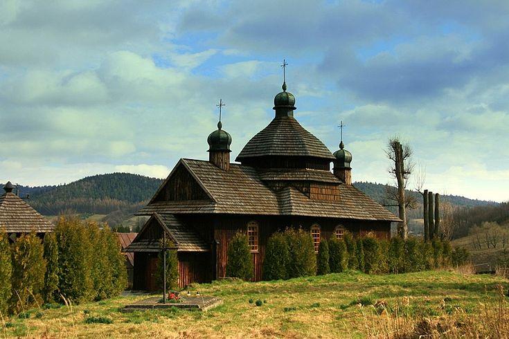 cerkiew w Krościenku (Bieszczady )