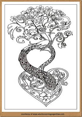 Take A Flash Of Some Time To Paint Detailed Nature Coloring Pages For Adults That Was