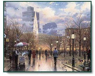 Boston by Thomas Kinkade