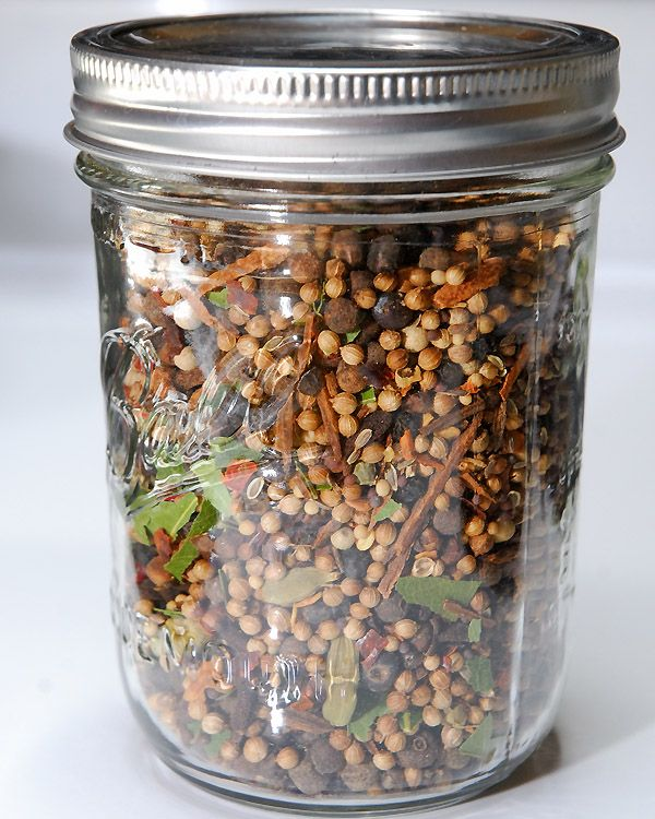 Don't buy pickling spice blends, make your own, it's easy!
