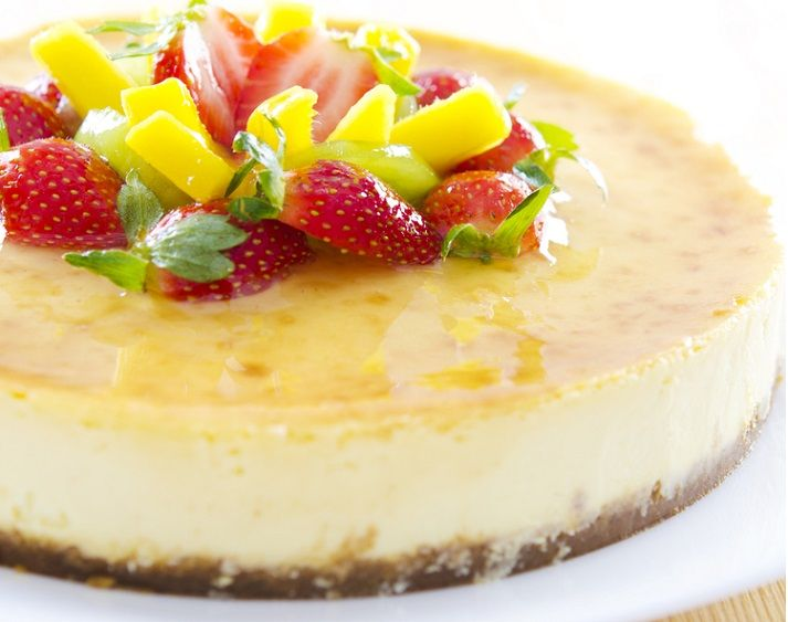 Sugar Free Passionfruit Cheesecake Recipe