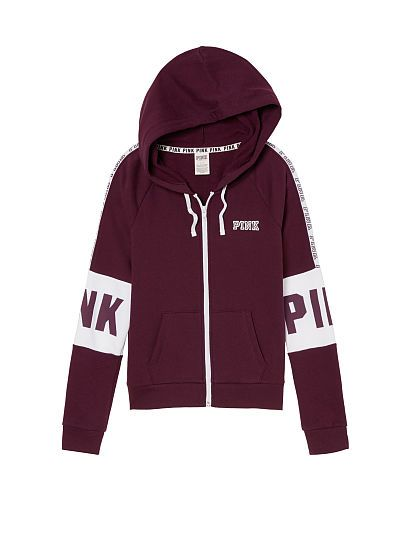 Perfect Full-Zip Hoodie PINK