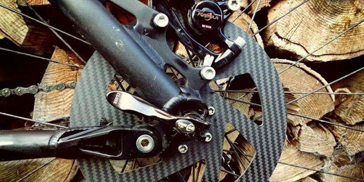 Una empresa española ha creado unos discos de carbono para frenos de bicicleta