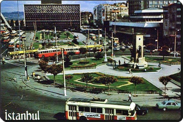 Taksim / Istanbul (1970'ler)