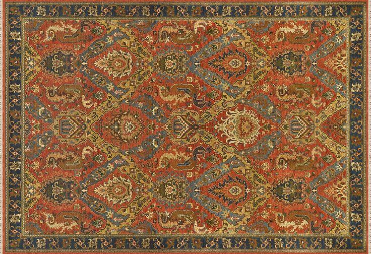 Этнические шерстяные ковры ручной работы - магазин ковров ANSY Carpet Company