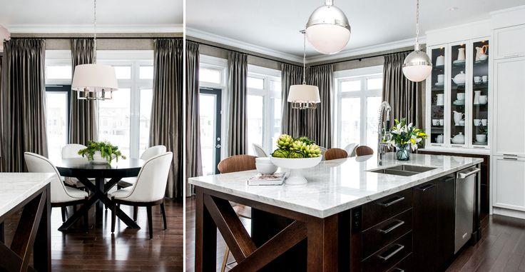 Island detail, lighting, Atmosphere Interior Design | Saskatoon