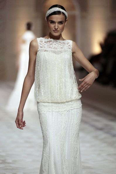 Barcelona's Bridal Beauty - The Most Gorgeous Wedding Gowns From Barcelona Bridal Week 2014 - StyleBistro