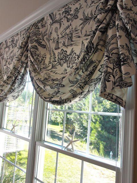 17 best ideas about custom window treatments on pinterest for Beautiful window treatments