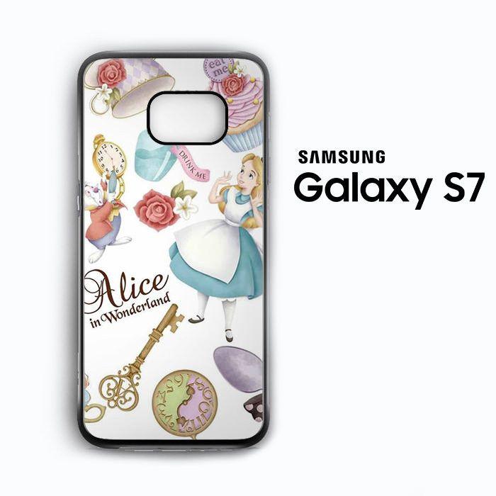 Alice Wallpaper for Samsung Galaxy S3/S4/S5/S6/S6 Edge/S6 Edge Plus/S7 Phonecases
