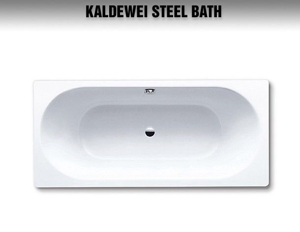 Image Of Kaldewei Classic Duo 110 Double Ended Steel Bath 1800 X