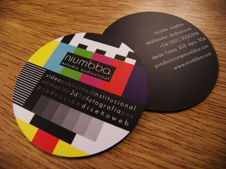 Unique Business Cards: Try something other than the traditional rectangular business cards.