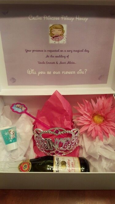 Image result for will you be our flower girl ask