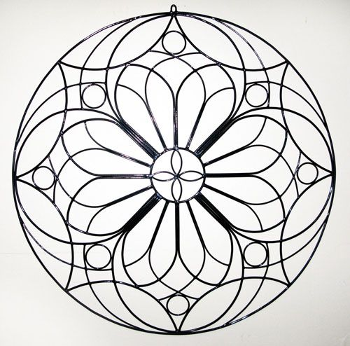 17 best images about adult coloring pages mandalas on for Rose window design