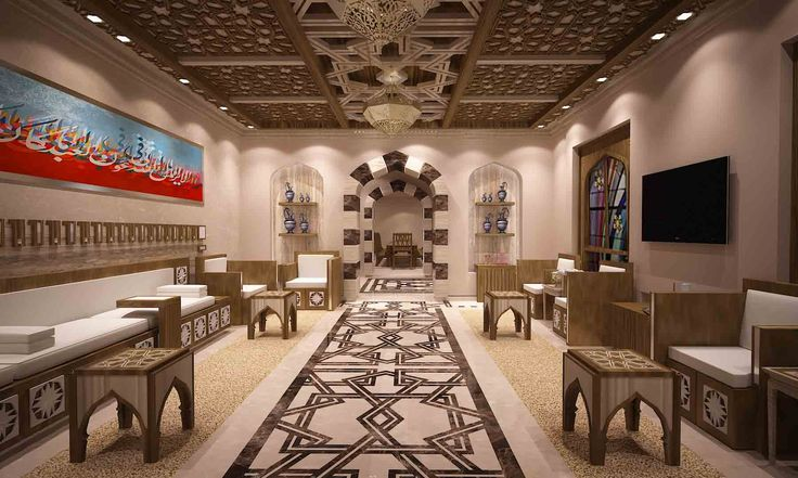 Arabic majlis al rayan qatar design by remal for Kitchen design qatar