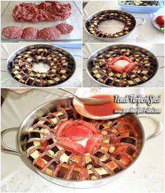 Tencerede Patlıcan Kebabı Tarifi