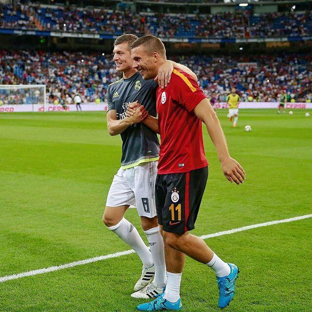 Toni Kroos & Lukas Podolski