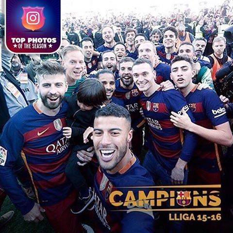 #TopIgersFCB -  La Liga The best photos from the 2015-16 season - Pick your favourite Les millors fotos de la temporada 2015-16 - Tria la teva favorita Las mejores fotos de la temporada 15-16 - Elige tu favorita  #IgersFCB #FCBarcelona