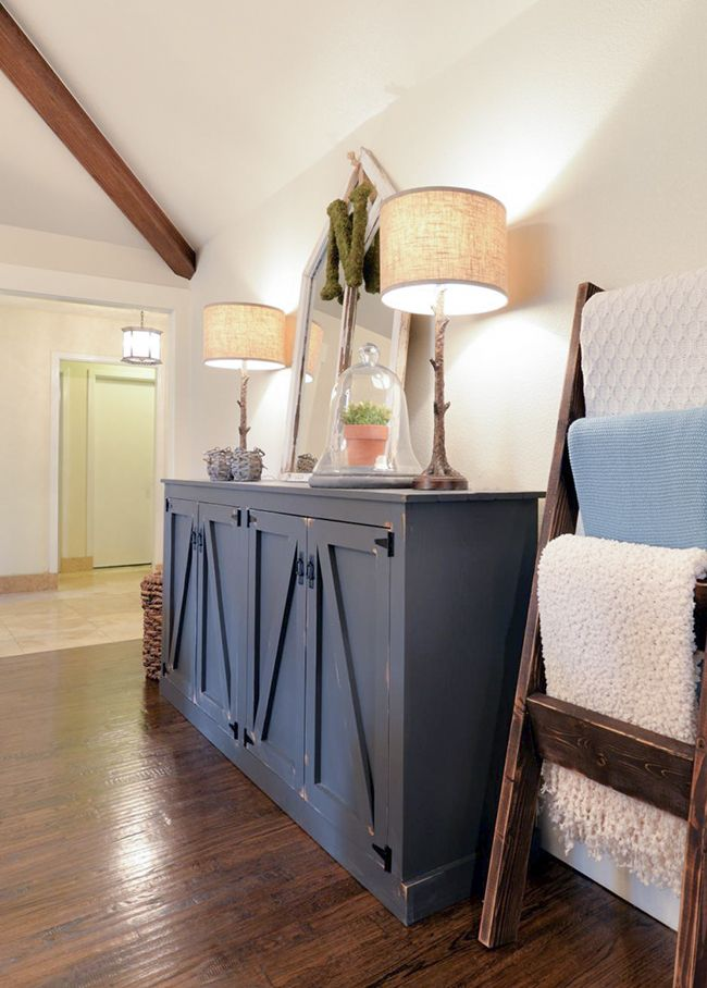 DIY Locker Cabinet as seen on HGTV's Open Concept - Free Plans and Tutorial by Shanty2Chic!