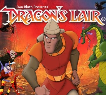 Dragon's Lair (1983): When most of the arcade machines in the 80s had blocky pixellated characters, this laserdisc beauty caught everybody's eye and stole all of their quarters! Click for a playthrough of Don Bluth studio's lovely animation. Spoiler warning!