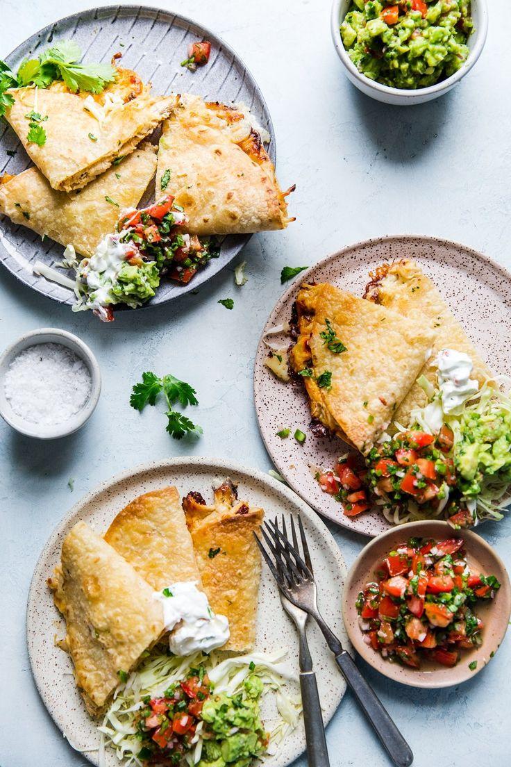 Baked Chicken Quesadillas – Dina Cucina