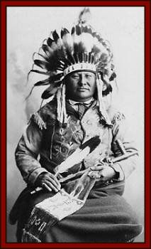 Chief Gall. Hunkpapa Sioux. Was a large man both in presence and stature. He weighed almost 300 pounds.