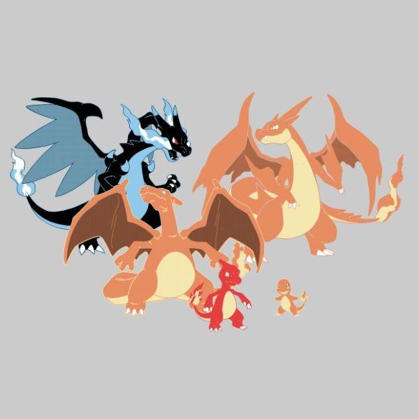 Charmander Evolutions