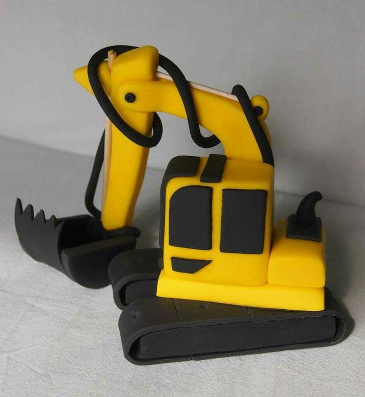 Excavator caketopper