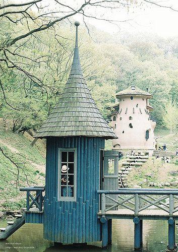 Het Moomin badhuis!