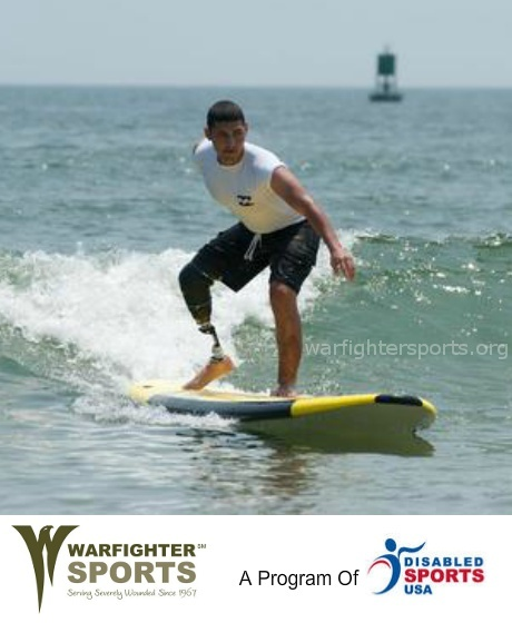 Warfighter Sports (warfightersports.org), a program of Disabled Sports USA (dsusa.org), offers sports rehabilitation programs in military hospitals and communities across the U.S. through a nationwide network of over 100 community-based chapters.
