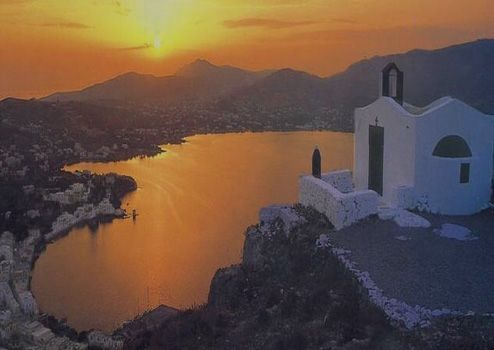 Leros island,outsider but in my heart has a special place.IS not popular,or crowdy,and you cannot say it is perfect,but i loved it so much,i was there in 2008,for few days=love.So many nice people.I was staying in Pandeli village.One day i will go again...I know...