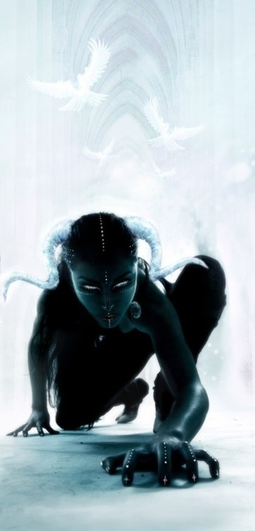 Ethereal by *Malach on deviantART While the End of Days makes it a lot easier for Demons to form bodies, some prefer to stay in the familiar paths of minds and dreams.