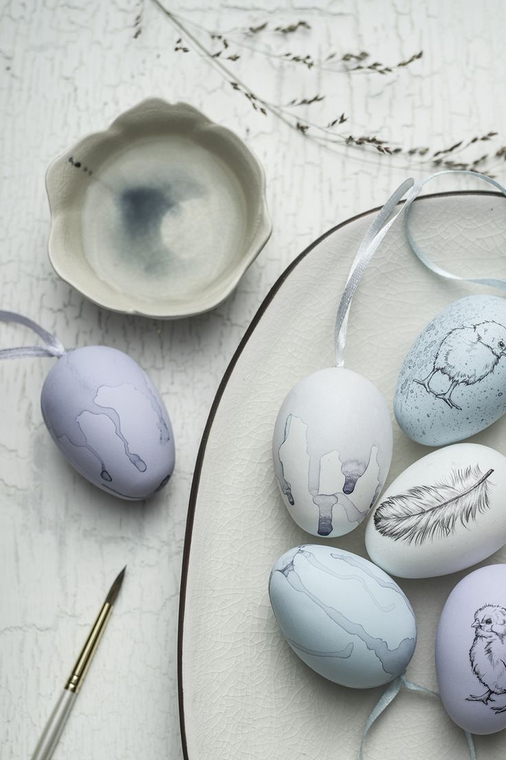 DIY easter egg with rub ons www.panduro.com #DIY #easter #paint #påsk #påskägg #ägg