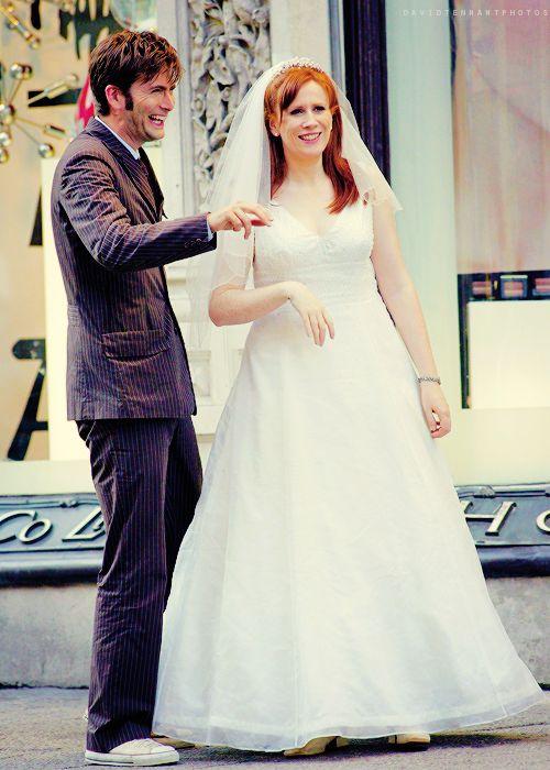 David Tennant and Katherine Tate