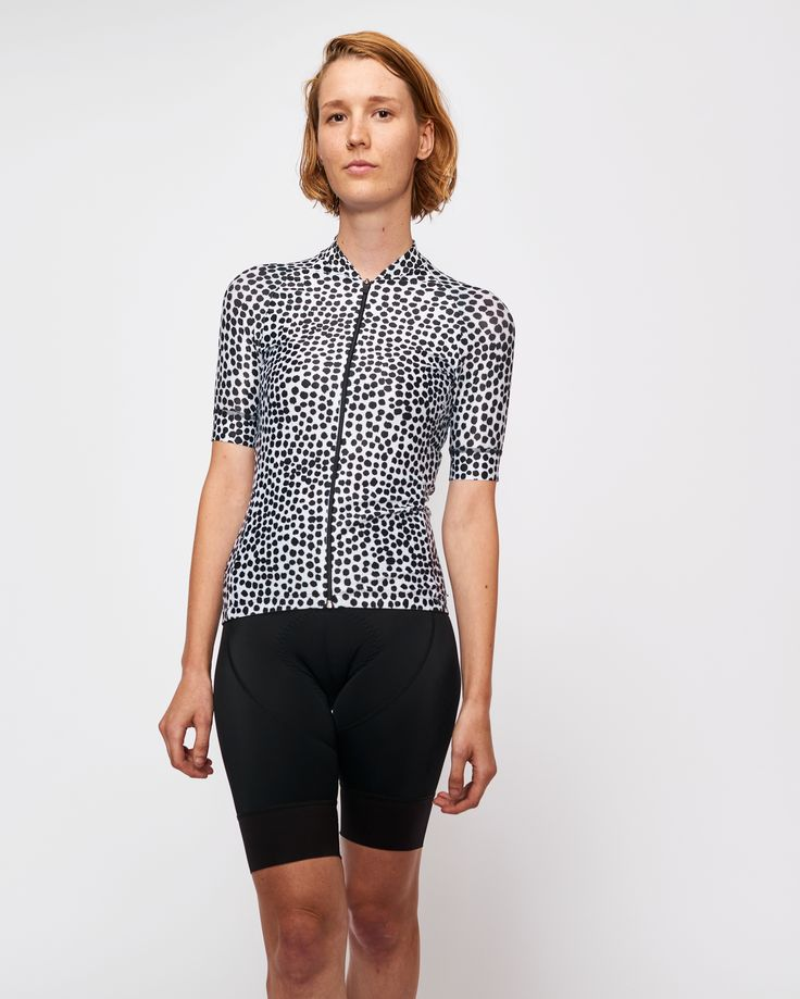 Womens Zeppole cycling jersey by Tenet Supply. Australian made and designed cycling apparel.