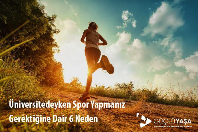 Üniversitenin, vücut geliştirmeye ve sağlıklı beslenmeye başlamak için doğru yer olduğunu gösteren 6 harika neden.  #vücutgeliştirme #bodybuilding #egzersiz #kardiyo #spor #üniversite #yağyakma #fitlife #fityaşam #sağlıklıyaşam #vücut #kiloverme #zayıflama #türkiye #güçlüyaşa