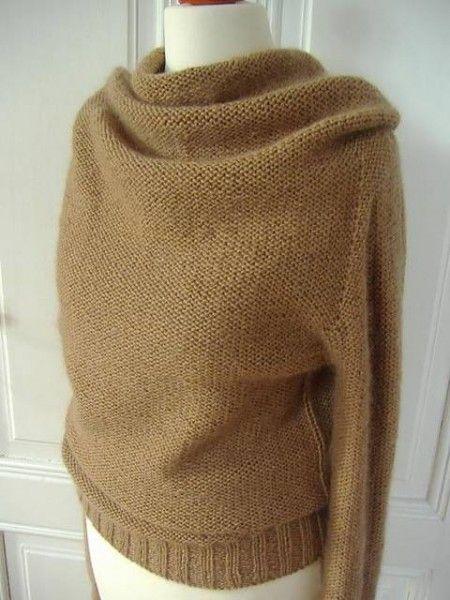top down sweater seamless