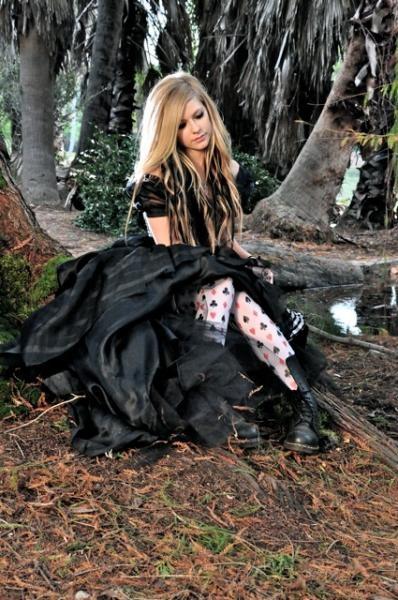Avril Lavigne as Alice.