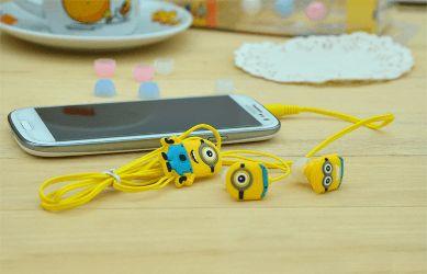 - Bananaaaaa!  - Non, ce sont des écouteurs minion ! ^^