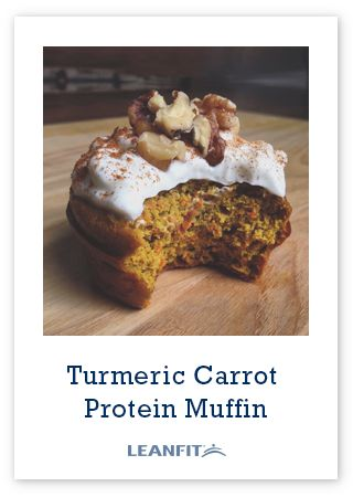 These Turmeric Carrot Protein Muffins contain a powerhouse spice (turmeric) that has anti-inflammatory properties and aids in digestion. It adds a beautiful yellow colour and subtle earthy flavour that compliments the sweetness of the carrots and tartness of the greek yogurt frosting.