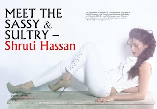 Shruti Hassan Photos From Exhibit Magazine – July 2012. | Bollywood Cleavage