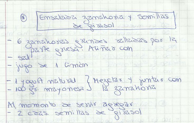 ENSALADA ZANAHORIA Y SEMILLAS DE GIRASOL   #SALADO #ENTRADAS #ENSALADA #ZANAHORIA