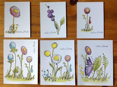 """Paper Artsy """"Jofy"""", Nr. 09, 11 und 12, Karten"""