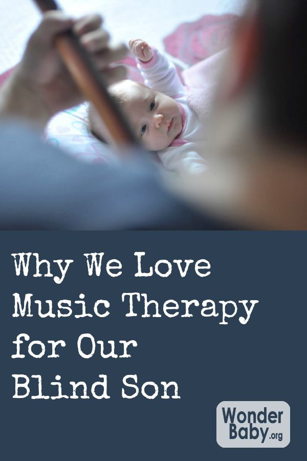 Why We Love Music Therapy for Our Blind Son