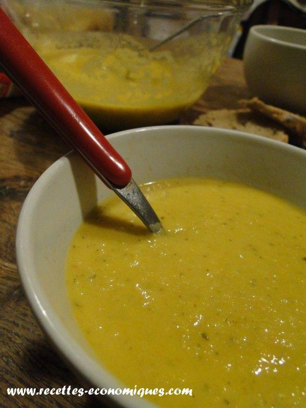 Soupe ou velouté de légumes au thermomix : rapide, facile et économique
