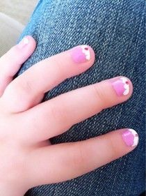 Superb Design Ideas For Painting Tiny Nails.... Perfect For My Little Sisters!