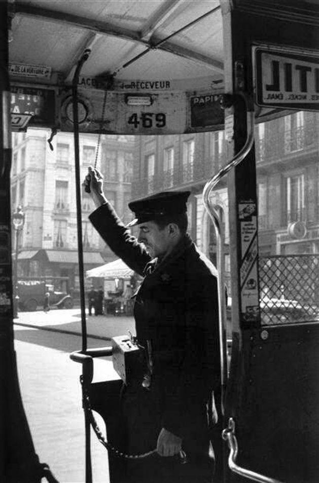 René Jacques - Bus à plateforme, 1930.