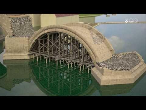Jak středověcí stavitelé ukotvili Karlův most do vltavského dna? Podívejte se na zajímavou animaci | iROZHLAS - spolehlivé zprávy