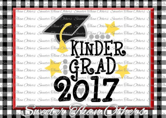 Kindergarten Graduation SVG cut file mtc htv T shirt Design