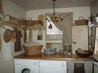 1871Farmhouse...wish my laundry room looked like this